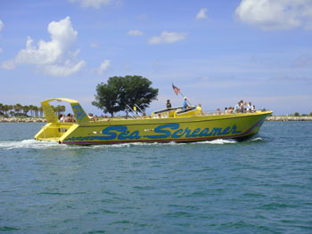 Clearwater Speed Boat Tours
